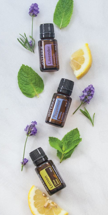 Lemon, Lavender, & Peppermint Essential Oils