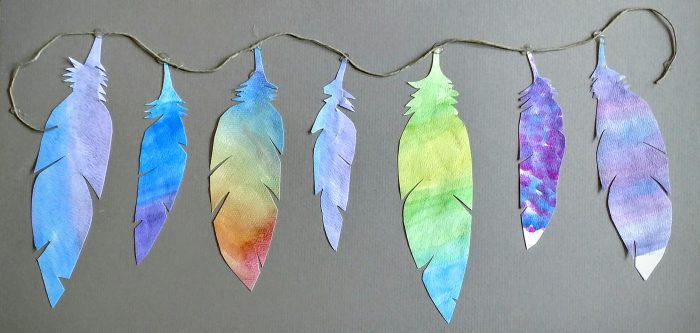 Diy Feather Art Symbolism Margarete Hyer The Essential Classroom
