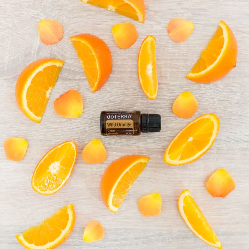 doTERRA Wild Orange and Orange Slices