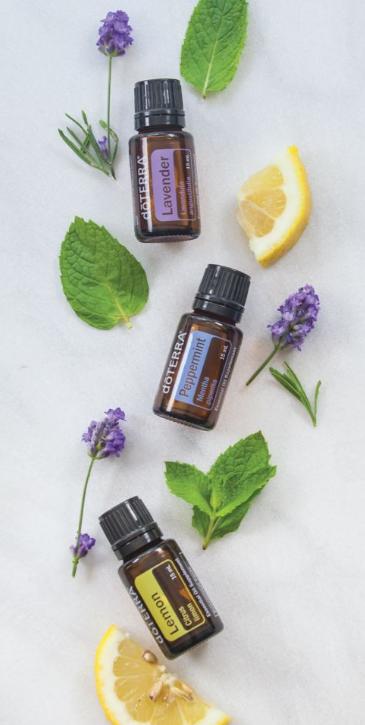 Lemon, Lavender, & Peppermint Essential Oils